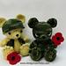 Remembrance Day Bear pattern