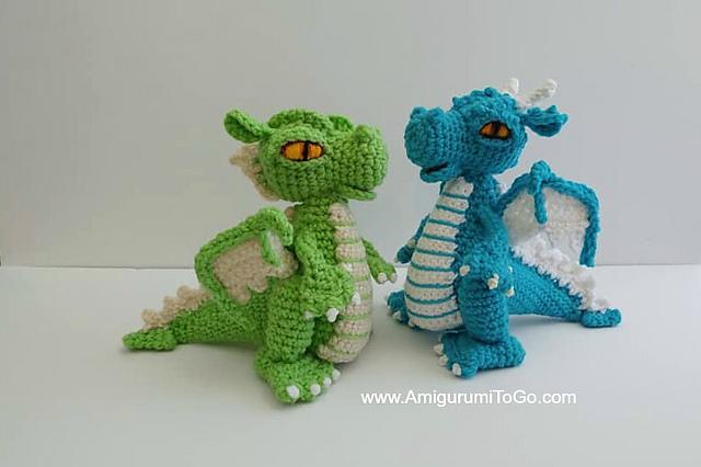 Fairytale Series – Philip the Dragon (avec images) | Tricot et ... | 426x640