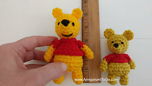 Crochet Teddy Bear Written Pattern and Video | 170x302
