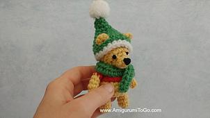 Small Crochet Bumblebee Amigurumi | 170x302