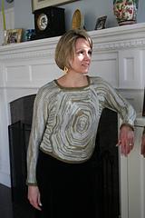Artyarns Regal Silk Circle Pullover