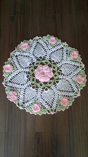 Ravelry Dorothy S Roses Doily Pattern By Elizabeth Ann White