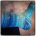 Shekure's Spiral Socks pattern
