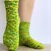 Crosswalk Socks pattern