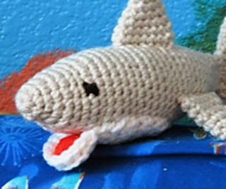 Chum the Shark PDF Crochet Amigurumi Pattern | Ganchillo amigurumi ... | 268x320