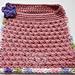 Hazel's Pullover Bib & Face Cloth pattern
