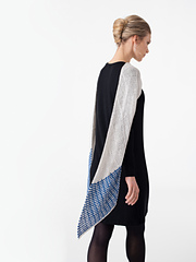 Delft Pattern, Knit in Shibui Knits Reed