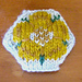Heraldic Rose hexipuff chart pattern