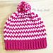 Easy V-stitch Hat pattern