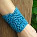 Pineapple Wrist Cuff #2 pattern