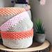 Easy Modern Storage Basket pattern