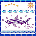 Voyaging Shark pattern
