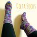 Delta Socks pattern