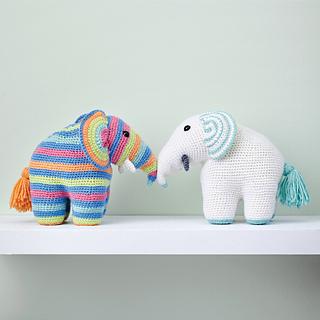Ravelry: Amigurumi Elephant pattern pattern by Anat Tzach | 320x320