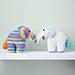 Elephant toys pattern