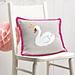 Swan Cushion pattern