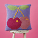 Juicy Cherry Cushion pattern