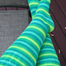Basic Knee High Toe Up Socks pattern