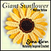 Giant Sunflower pattern