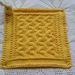 Ribbons of Sunshine cloth pattern