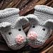 Little Mice Baby Booties pattern