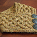 Celtic Cable Neckwarmer pattern