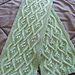 Paquin Cable & Bobble Scarf pattern
