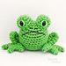 Fred the Amigurumi Frog pattern