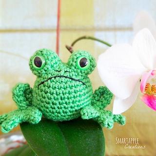 Crochet Frog Pattern | Crochet frog, Crochet animal patterns ... | 320x320