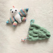 butterfly soft toy with chrysalis drawstring bag pattern