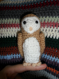 Ravelry: Titus the Barn Owl pattern by Grace McMahon