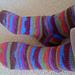 Simple How-To-Knit Sock / Socken Stricken pattern