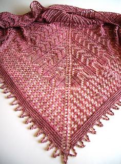 Mohana shawl II
