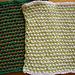 Garter Slip Stitch Dishcloth pattern