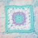 Little Flower Square 6x6 pattern