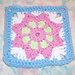 May Flower Square 6x6 pattern