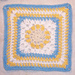 Cute Spring Square 12 x 12 pattern