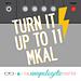 Turn It Up To 11 MKAL pattern