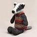Falun the badger pattern