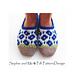 Spring-Flower Slippers pattern
