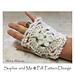 Winter Flower Hand Warmers pattern