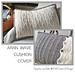 ARAN WAVE Cushion Cover pattern