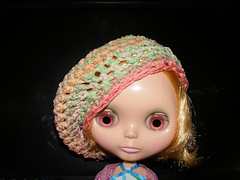 Claire in her new hat