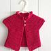 Azalea Baby Cardigan pattern