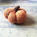 Itty Bitty Pumpkin pattern