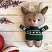 Holiday Deer pattern
