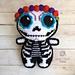 Sugar Skull Amigurumi pattern