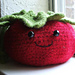 Tomato Felted Pouch pattern
