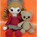 Cinnamon and Her Teddy Bear pattern