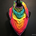 One Mandala Cake Triangle Scarf pattern